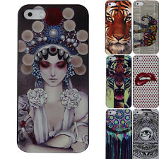Cheap Sale For apple iPhone 5 5S Back Phone Cases Cover Skins Cool Fashion Print