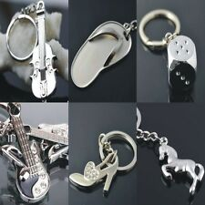 Guitar Violin Slipper Heels Dice Horse Shape Keyrings Lover Gift keychain