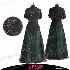 Short Sleeve Mother of the Bride Dresses Free Bolero Wedding Party Gown 2014 NEW