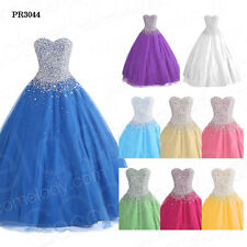 Sweetheart Crystal Ball Gown Quinceanera Dress Pageant Party Gown 2014 NEW SALE