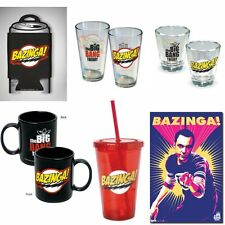The Big Bang Theory Bazinga Merchandise (Choose Your Product) Sheldon Cooper New