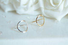NEW Open Circle Ring Knuckle Hipster Stacking Unique Gift Jewelry Silver Gold