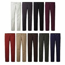 UNIQLO Men UJ Slim Fit Color Jeans Choose Colors NEW FreeShip w/Tracking 128447
