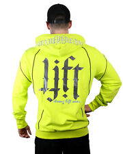 STRONG LIFT WEAR Hyper Pullover Mens Gym Hoodie Training Jacket Sweater Workout