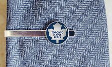 Toronto Maple Leafs silver or black new tie clip bar clasp or lapel pin