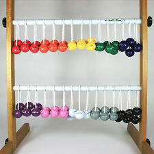 Official LADDER GOLF Game BOLA Sets (Golf Balls on string)-10 Color Choices!
