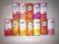 Crystal Light 2qt Pitcher Packets(only) Drink Mix many flavor to choose from