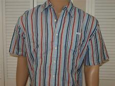 Ecko Unltd Striped Short Sleeve Shirt Blue  NWOT