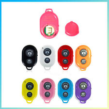 Bluetooth Wireless Camera Shutter Remote Control Key Chain for iPhone + Android