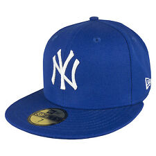 New Era 59FIFTY New York Yankees Cap Royal White