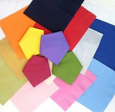 100 top quality 40cm 3 ply paper napkins Many colours