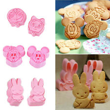 Cartoon Sugar Fondant Cookie Cake Craft Chocolate Decorating Plunger Cutter Mold