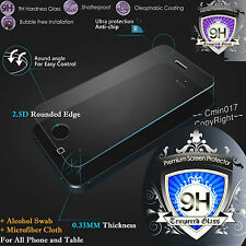 9H Premium Tempered Glass Screen Protector Film for All cover case Table Phone