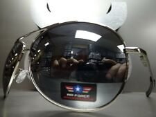 CLASSIC Cop Police Pilot VINTAGE AVIATOR STYLE AIR FORCE SUNGLASSES Mirror Lens