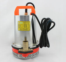 Solar Power Pump 12 / 24/ 48V DC Submersible Fountain pump for watering washing