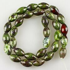 Dragon blood jasper loose beads