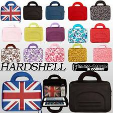 "UNIVERSAL 9"" 9.7 10"" HARD SHELL CARRYING BAG COVER CASE FOR APPLE ANDROID TABLET"