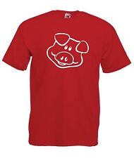 PIG funny animal fashion present party gift size tee New Mens Womens T SHIRT TOP