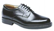 Scimitar Mens Leather Lace Up Padded Evening Office Formal Gibson Shoes Black