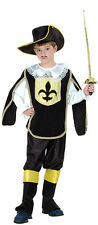 CHILD MUSKETEER BOY #COMPLETE OUTFIT MEDIEVAL FANCY DRESS ALL SIZES