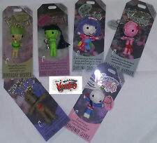 New Collectable Voodoo Doll Charm Key Chain, String Dolls, Gift, Relations