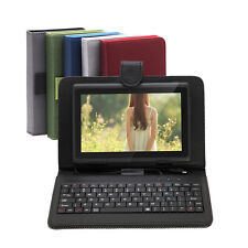 """iRulu 7"""" Android 4.2 Dual Core Cam Tablet 16GB WIFI Black w/Gridding Keyboards"""