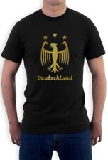Deutschland Gold 2015 T-Shirt Cup Germany Football Soccer Champions Tee Jersey