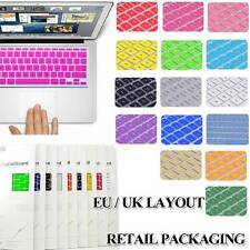 "UK/EU Silicone Keyboard Cover For Apple MacBook Air / Pro/Pro retina 11"" 13"" 15"""