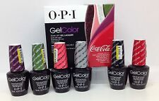OPI Gel color Soak-off - THE COCA COLA COLLECTION  - Choose Any Shade 0.5oz