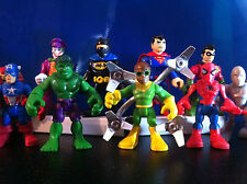 SUPER HERO SQUAD FIGURE Imaginext MARVEL HULK SPIDERMAN BATMAN JOKER DC COMICS