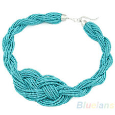 Fashion Women's Exquisite Bohemian Style Handmade Knotted Simple Beads Necklace