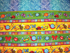 New VALANCE lady bugs FLORAL butterfly colorful SCHOOL nursery KIDS