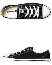 New Converse Women's Chuck Taylor Womens All Star Dainty Lo Shoe Shoes Black