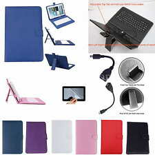 """Colorful Keyboard Case+Free Film For 10.4"""" Samsung Galaxy Tab S T800 T805 Tablet"""