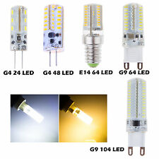 New E14 G4 G9 3w 4w 5w 7w 3014 SMD Led Spot Light Corn Bulb Lamp Engergy Saving