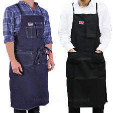 Ben Davis Adult's 556 Machinists Apron Denim / 594 Printers Apron Black One Size