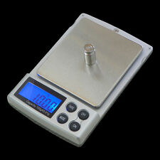 Jewelry Scale Digital Balance Pocket Weighing 100g 200g 300g 500g 0.01g 1kg/0.1g