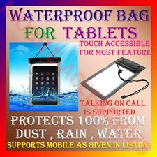 "WATERPROOF BAG for TABLET TAB ""PROTECT from DUST,RAIN,WATER"" COVER POUCH CASE M4"
