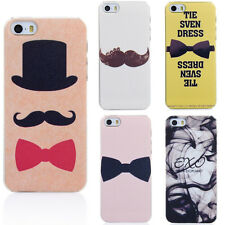Fashion Cartoon Pattern Thin Hard Back Skin Case Cover for Apple IPhone 5 5S 5G