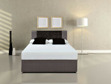Lux orthopaedic 5cm MEMORY FOAM + POCKET SPRUNG MATTRESS British & IKEA EU sizes