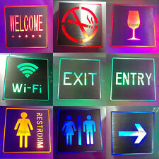High Power LED Cube Light Lamp Sign Indicator Direction Board