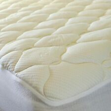 Luxury Cool Touch Bamboo Top Mattress Pad By DOWNLITE