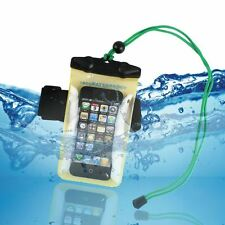 Universal Clear Waterproof PVC Dry Pouch Case Cover For LG Sony Nokia Samsung