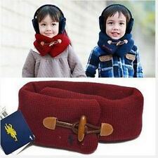 Winter Warm Baby Toddler Kid Child Boys Girls Neck Shawl Muffler Wrap Loop Scarf