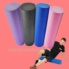 Textured Exercise Yoga Foam Roller for Gym Pilates Physio Fitness Sport Workout