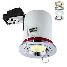 4W 3000K Warm White LED Downlight Fire Rated Downlighter Spotlight Die Cast