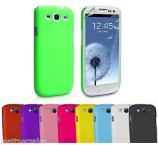 Premium Hard Case Cover for Samsung i9300 Galaxy S3 S III Screen Protector