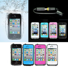 Waterproof Shockproof Dirt Dust Proof PC Hard Cover Case For iPhone 4 5 6 S Plus
