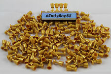 LEGO - Lot of Pearl Gold Goblets Wine Drink Food Minifigure Golden Treasure
