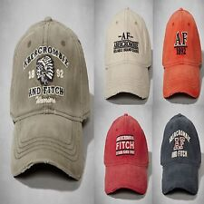 NWT Abercrombie Fitch A&F by Hollister Mens Vintage Reissued Logo Ball Hat Cap